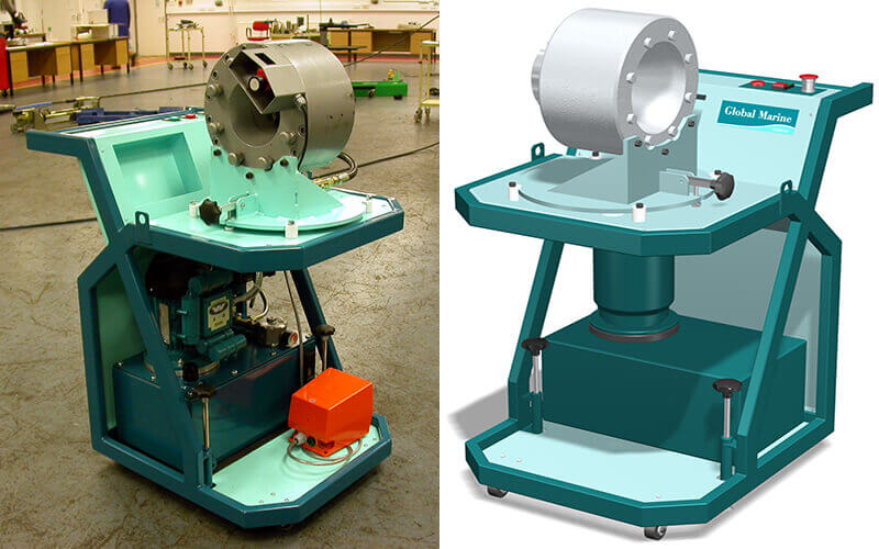 Submarine Cable Ferrule Press