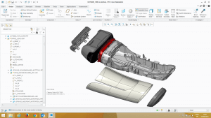 PTC Creo Parametric screenshot 2