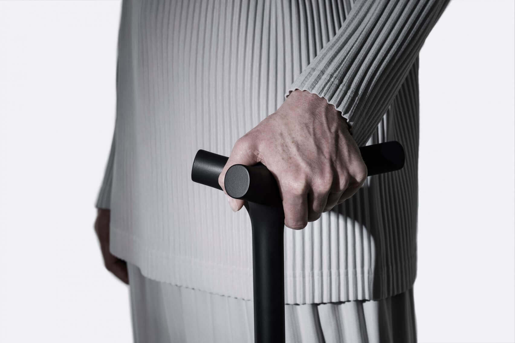 accessible product design - 3D-printed walking stick